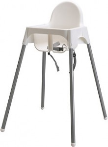 Rückrufaktion Ikea Hochstuhl Antilop
