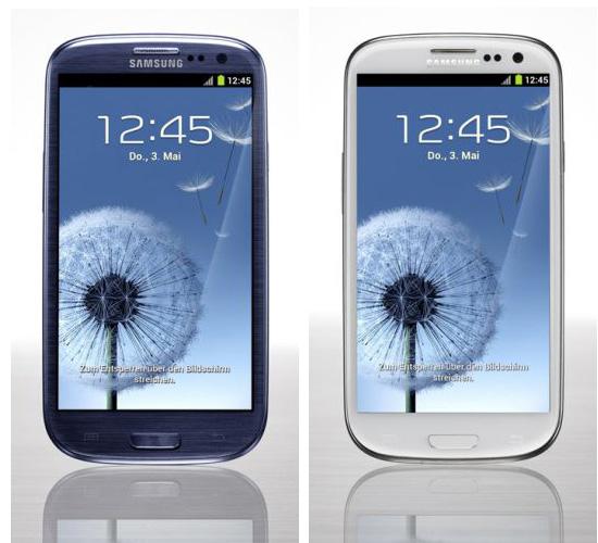 Testergebnis Samsung Galaxy S3