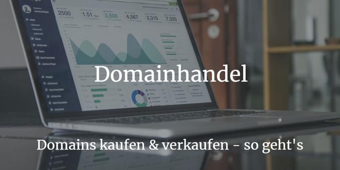 Domainhandel Domain verkaufen