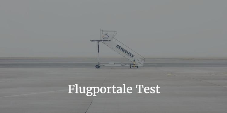 Flugportale Test
