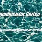 Tauchpumpe – 7 Modelle für Schmutzwasser im Vergleich